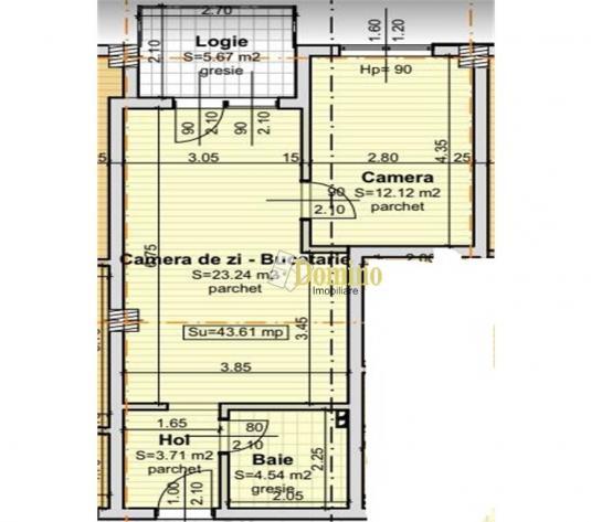2 Camere, Semidecomandate, Bloc nou, Baciu - imagine 1