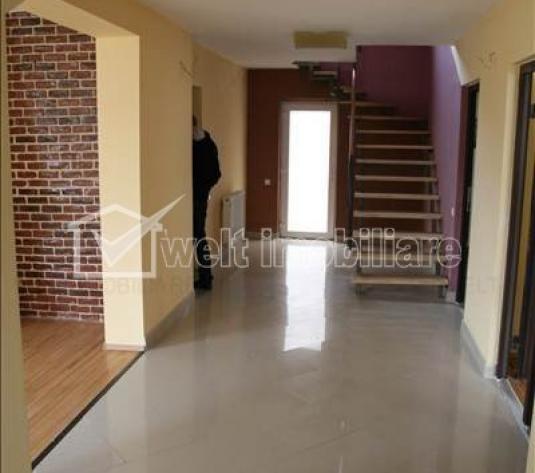 Vanzare casa individuala, 4 camere, pe 2 nivele, finisata, zona buna, Floresti