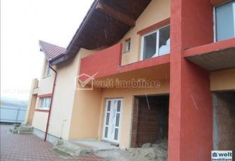 Casa tip duplex semifinisata de vanzare in Gilau
