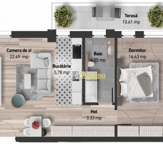 Apartament 2 camere, Et Intermediar, Bloc Nou, Zorilor - imagine 1