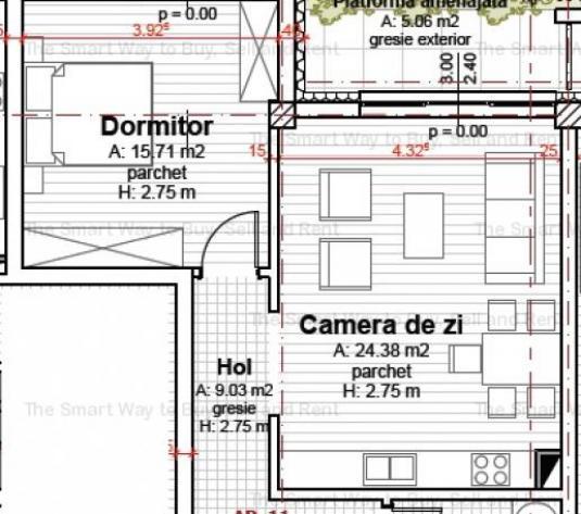 Vanzare Apartament 2 camere Europa - imagine 1