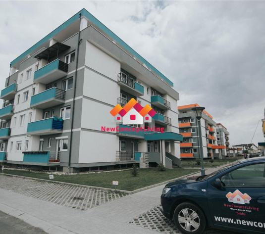 Apartament de inchiriat in Sibiu - 2 camere - terasa mare - Cart. ALMA - imagine 1