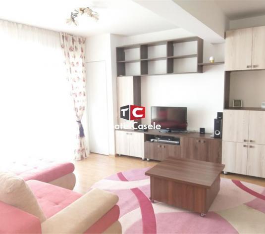 Apartament nou cu 2 camere, etaj intermediar, mobilat, utilat, parcare - imagine 1