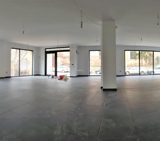 Spatiu comercial cu vitrina, 130 mp, 2 parcari, Dragalina - imagine 1