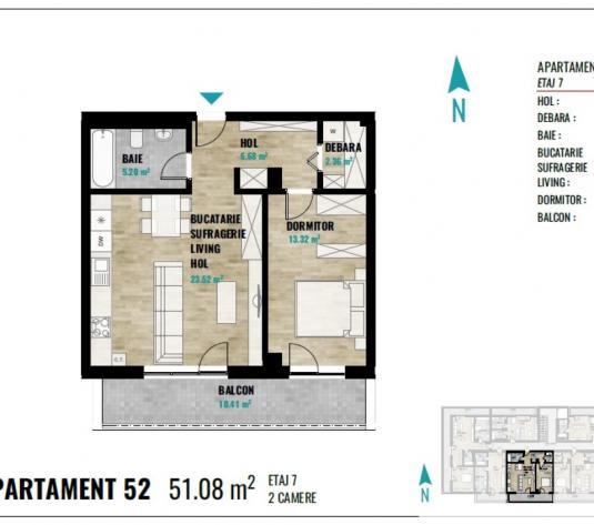 Apartament 2 camere Cluj Napoca, Europa - imagine 1