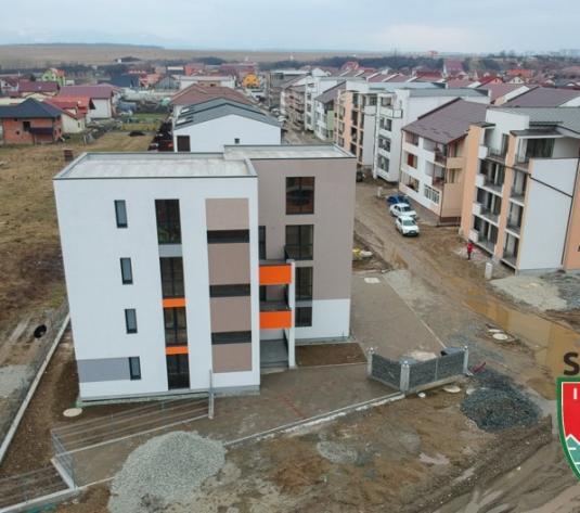 Apartament 2 camere nou intabulat , cu gradina zona Selimbar(Dracula) - imagine 1