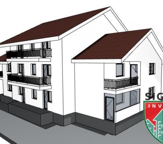 Apartament 2 camere de vanzare in Sibiu, decomandat cu gradina - imagine 1