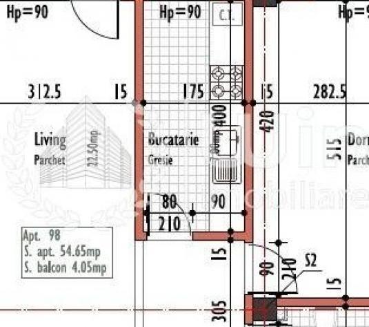 Apartamente cu 2 camere decomandate in imobil nou cu CF! - imagine 1