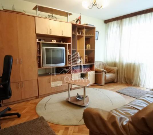 Cornisa Bistritei - 2 camere decomandate - etajul 1 - balcon mare - vedere Sud - imagine 1