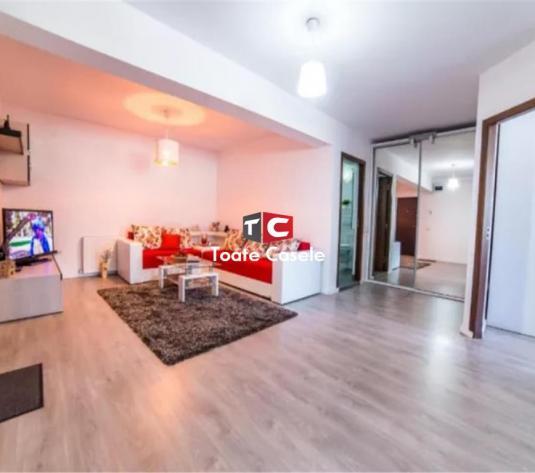 Apartament nou cu 2 camere, etaj intermediar, mobilat, utilat - imagine 1
