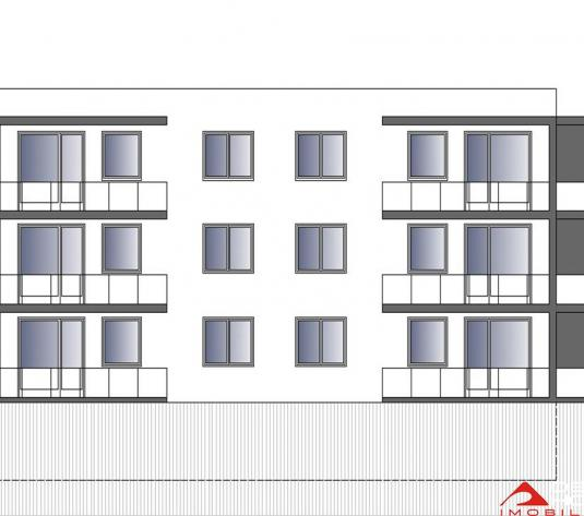 Apartament 1 camera Europa, 36 mp, logie 15 mp si terasa 100 mp,  garaj inclus! - imagine 1