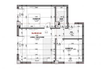 Apartament imobil nou zona Baumax Zorilor