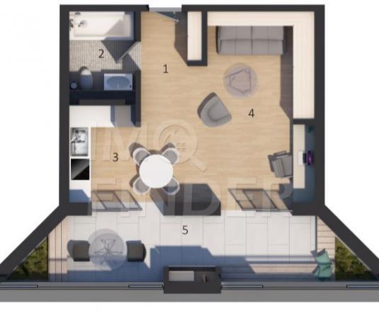 Apartament o camera zona Vivo - imagine 1
