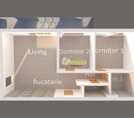 3 camere, Semidecomandate, Bloc nou, Parcare, Terasa, Cartier Europa - imagine 1