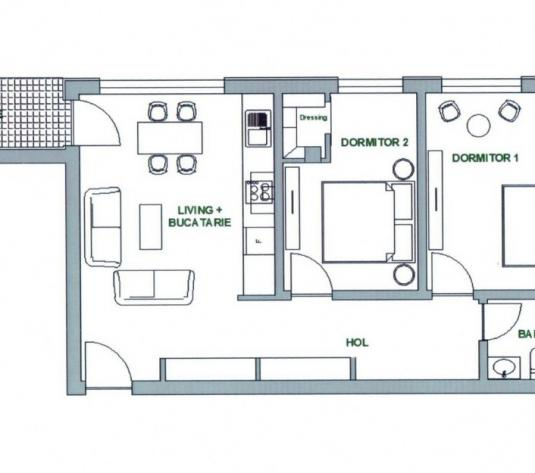 Apartament 3 camere Calea Dumbravii - imagine 1