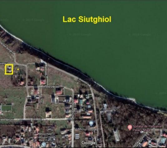 Palazu Mare - teren palazu mare 1000 mp cu proiect deosebit langa Lac - imagine 1