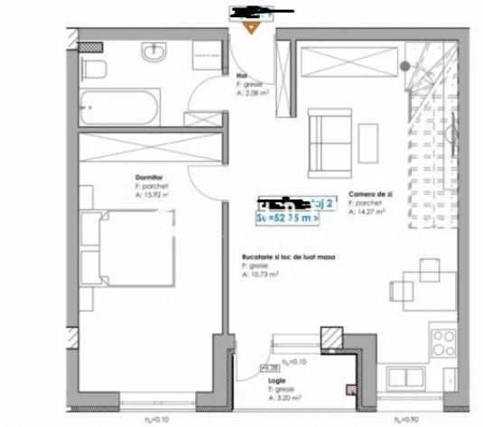 Apartament 2 camere imobil nou zona Mega Image - imagine 1