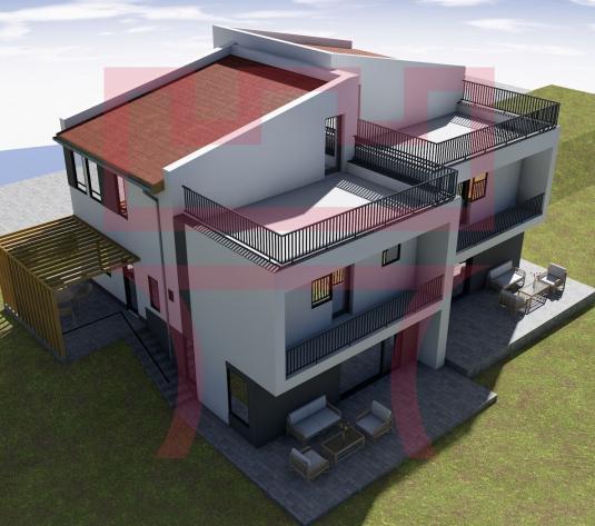 Duplex finisat,  predare la cheie, 4/5 camere terasa cu panorama 30mp - imagine 1