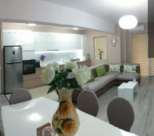Vanzare apartament 3 camere 87mp cu 2 gradini Bonjour Residence - imagine 1