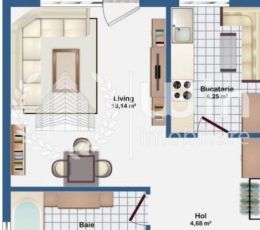 Apartmente cu 1 camera | decomandat | in bloc nou | zona Europa! - Cluj-Napoca, Europa - imagine 1