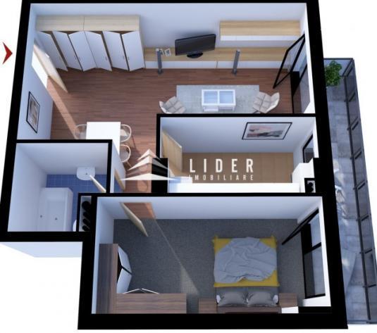 Apartamente cu 2 camere imobil nou zona Parcului Gheorgheni - imagine 1