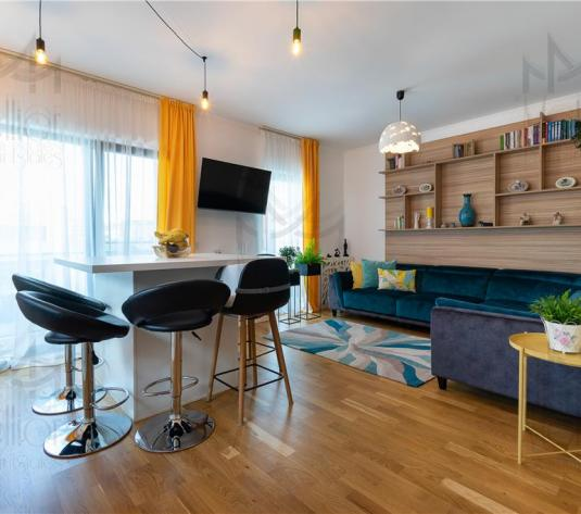 Apartament superb cu 3 camere + parcare in zona Borhanci! - imagine 1