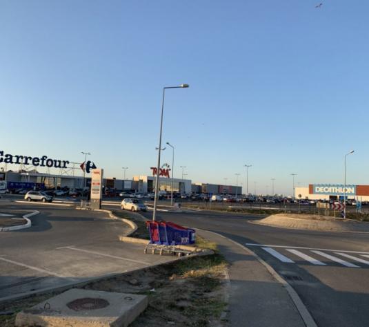 Dedeman - Carrefour - teren de vanzare langa noul Jysk - imagine 1
