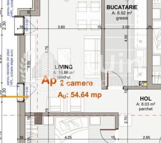 Ultimul apartament 2 camere + gradina tva inclus   garaj   in Borhanci - Cluj-Napoca, Borhanci - imagine 1