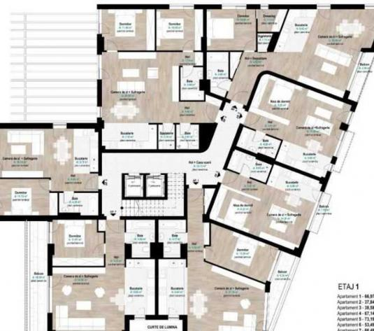 Vanzare apartament 1 camera in Gheorgheni zona Hermes - imagine 1