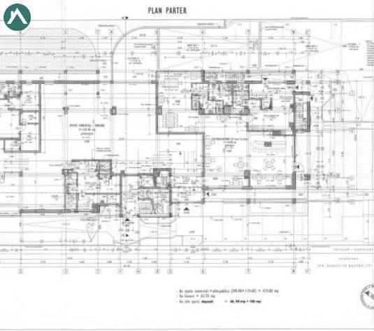 Spatiu comercial NOU cu H=4 m si vitrina la str. Buna Ziua - imagine 1