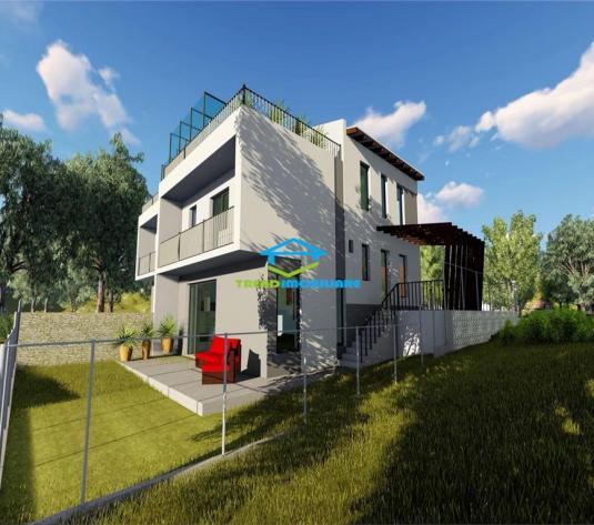 Duplex cu terasa circulabila  Borhanci  priveliste superba de vanzare - imagine 1