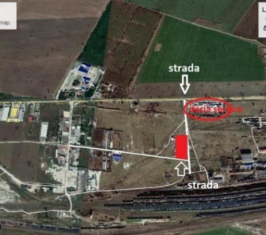 DACIA SERVICE,5000 mp cu fronturi stradale 100m/50m, colt - imagine 1