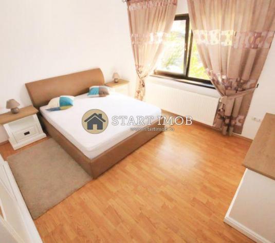 Apartament mobilat 3 camere bloc vila - imagine 1