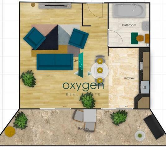 Apartament 51 mp, bloc nou, etaj 2, incalzire pardoseala, Vivo Cluj - imagine 1