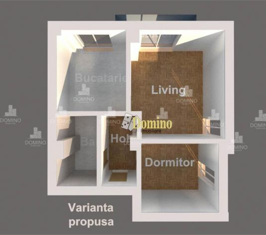 2 Camere, Decomandat, Bloc Nou, Semifinisat, Zona Semicentrala - imagine 1