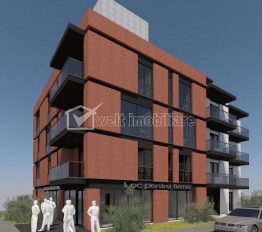 Apartament de vanzare in bloc nou, Andrei Muresanu, 3 camere decomandate, 69 mp - imagine 1