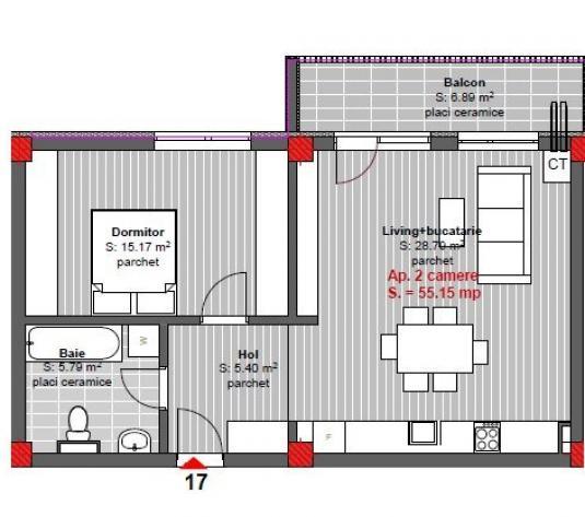 Comision 0% Apartament 3 camere constructie noua, -Floresti - imagine 1