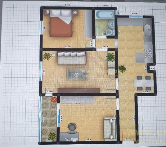 Exclusivitate - apartament 3 camere, vanzare/inchiriere - ID: 93732 - imagine 1