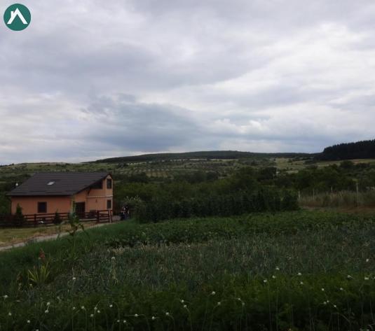 Vand teren format din 2 parcele, intr-o oaza de liniste, in sat CORUSU - imagine 1