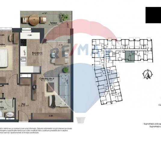 The Office  Apartament 2 camere de vanzare 0% Comision  ultimele 15 - imagine 1