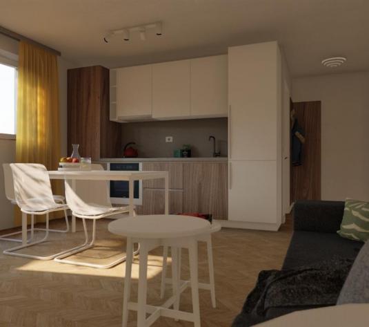 Vanzare apartament 2 camere bloc nou cu CF, str Razoare zona Polus - imagine 1