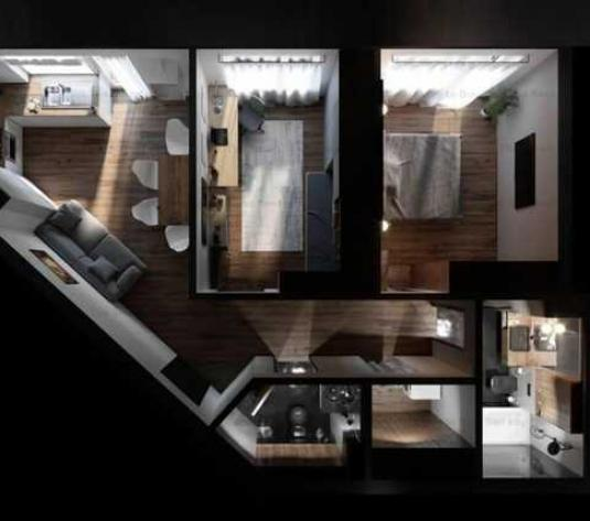 Apartament 3 camere, 62 mp, 2 balcoane, zona Corneliu Coposu - imagine 1