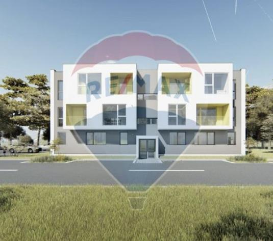 Apartament de vanzare 2 camere+ curte 90mp+parcare, Floresti zona Lidl - imagine 1