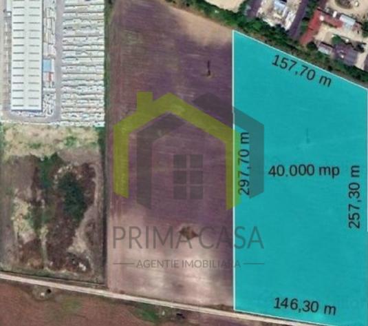 Teren intravilan la periferia orasului Buzau; S=40.000mp; d=150m; Pret: 24/mp - imagine 1