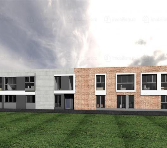 Teren cu autorizatie de construire 480 mp, Imobil locuinte + spatii birouri - imagine 1