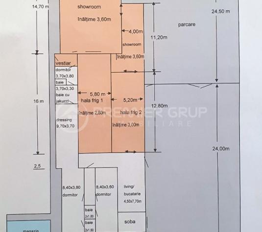 Spatiu comercial + Teren, Pacurari, 1625mp - imagine 1