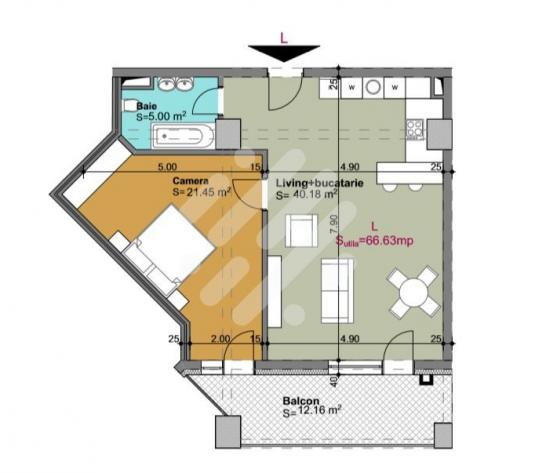 Apartament cu 2 camere in zona Gheorgheni - imagine 1
