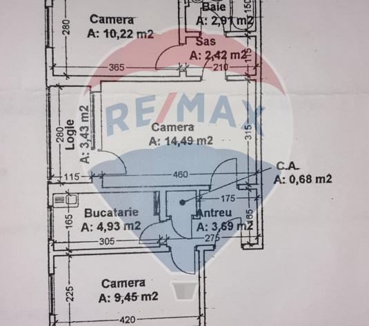Apartament 3 camere + balcon de vanzare in Manastur - imagine 1