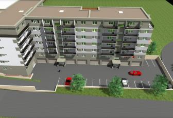 Apartament 3 camere cu terasa de 50 mp - Cluj-Napoca