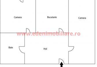 Apartament 2 camere de vanzare in Cluj, zona Marasti, 70000 eur